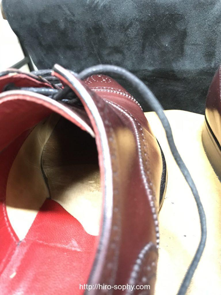革靴の中底
