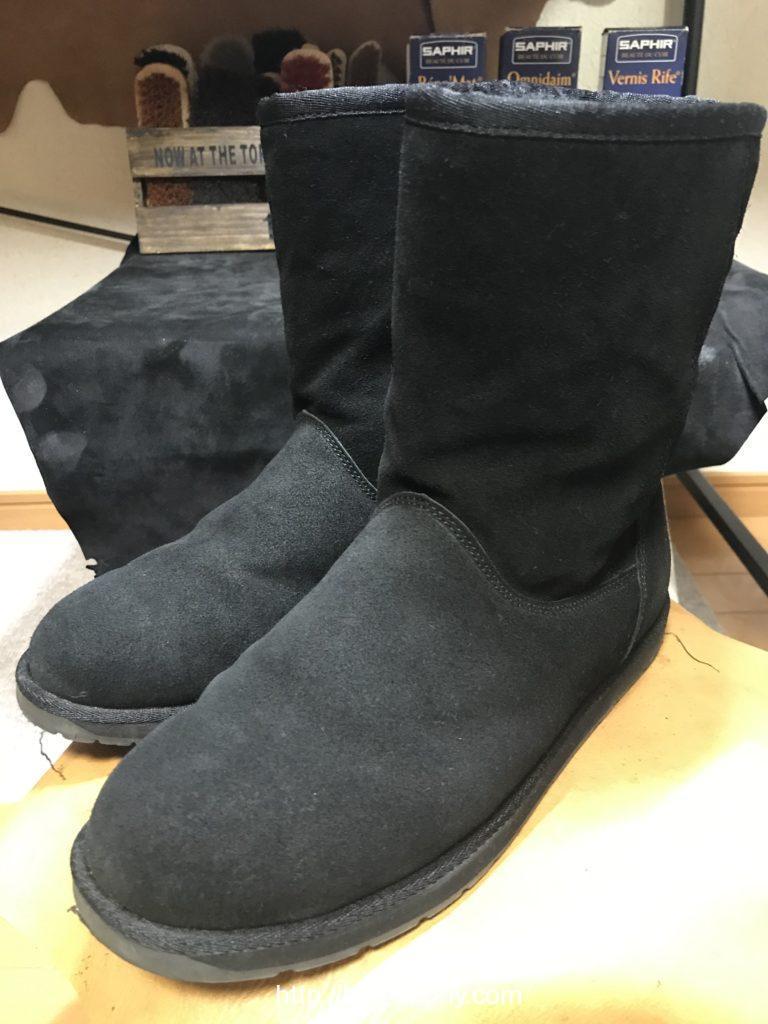 エミューのブーツ