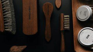 革靴のメンテナンス用品