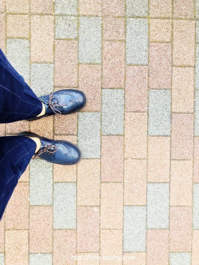 革靴を履いたHIROsophy