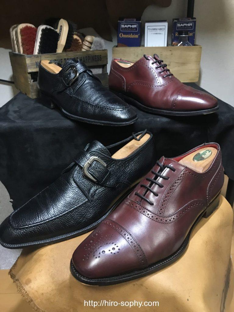 マッケイ製法とグッドイヤーウェルト製法の革靴