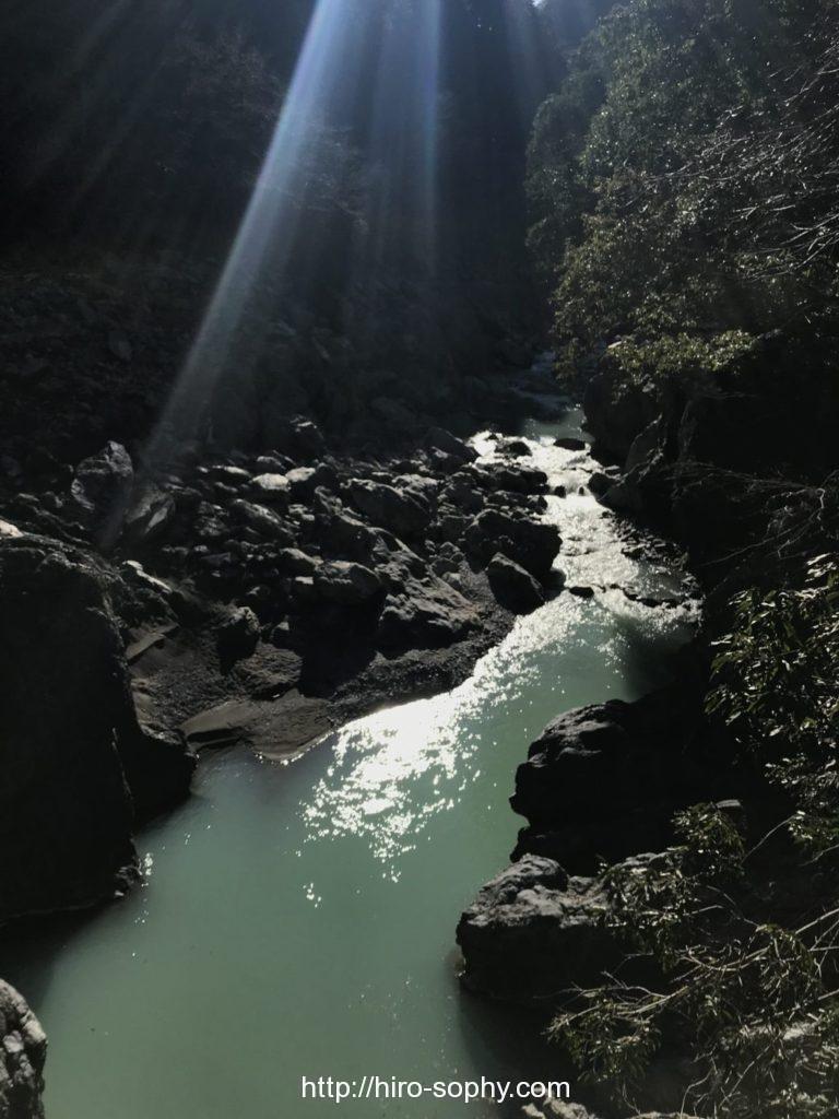 鳩ノ巣渓谷からの景色