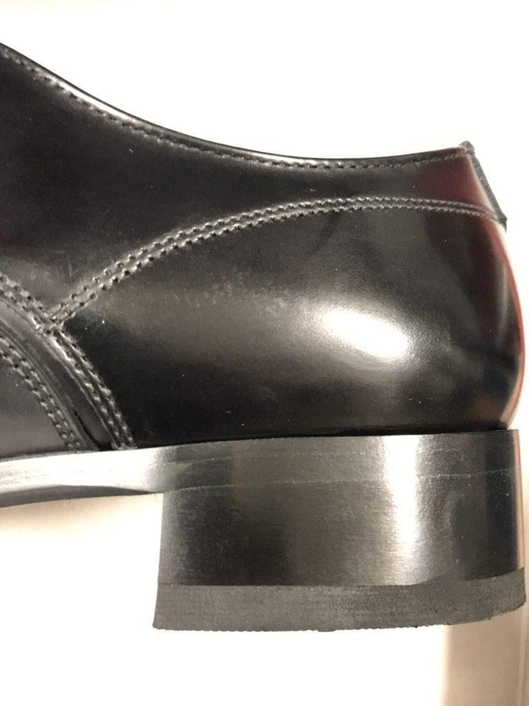 革靴のヒール