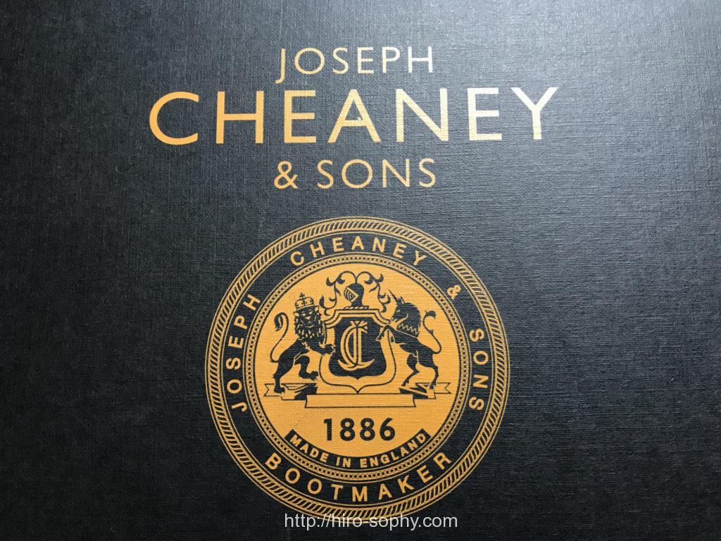 ジョセフチーニーの靴箱