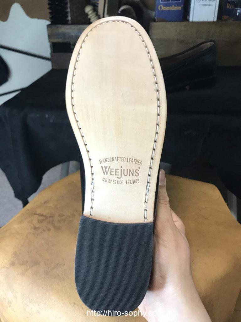 G.H.BASSの靴底