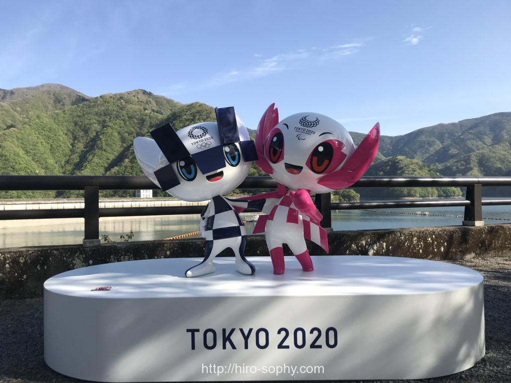 オリンピックのマスコット